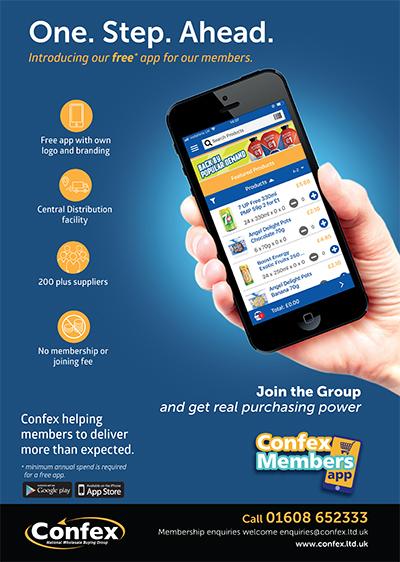 Confex rolls out app to wholesale members - Cash & Carry Management